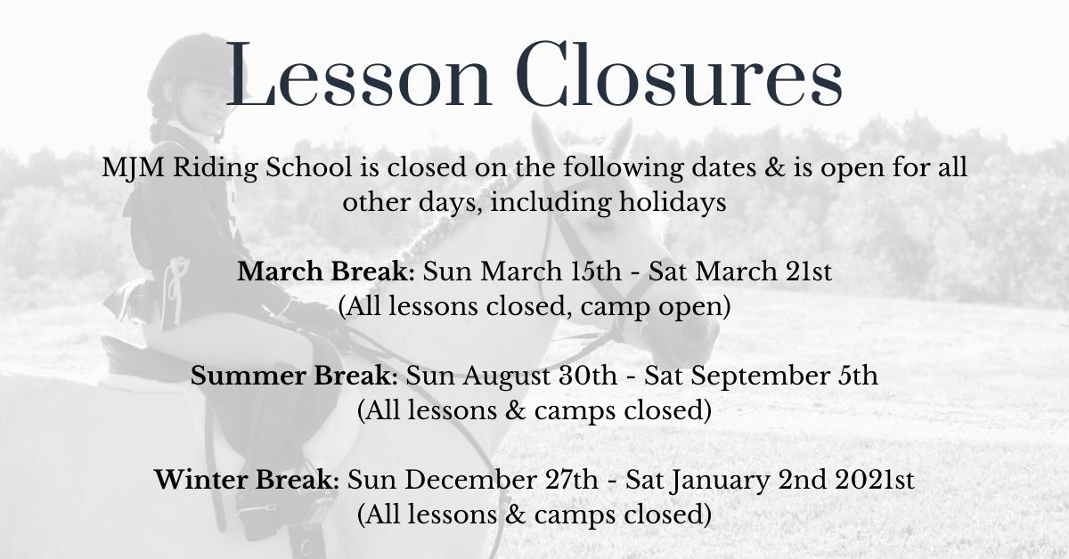 Lesson Closures